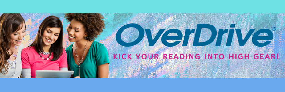 Enjoy reading on your device with OverDrive!