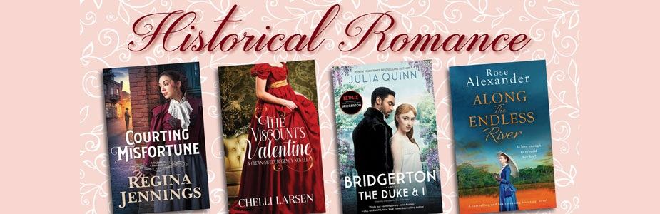 Historical romance on Hoopla!