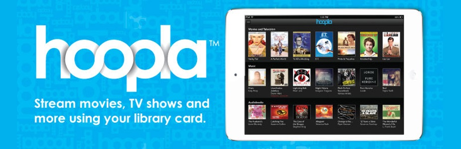 Stream movies, TV shows, and more for free with Hoopla!