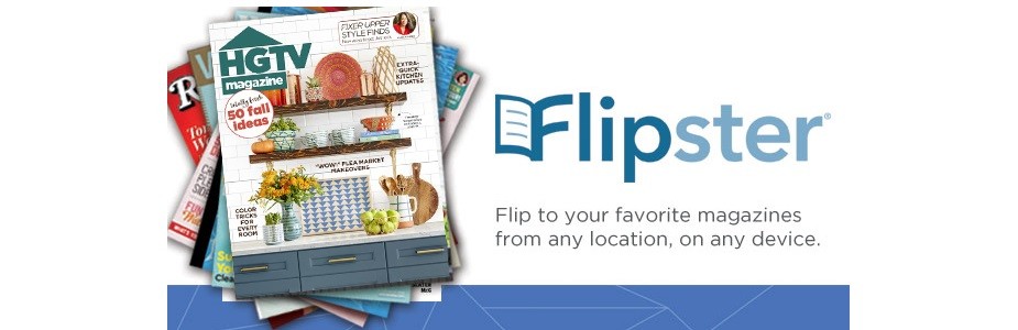 Enjoy all your favorite print magazines digitally with Flipster!
